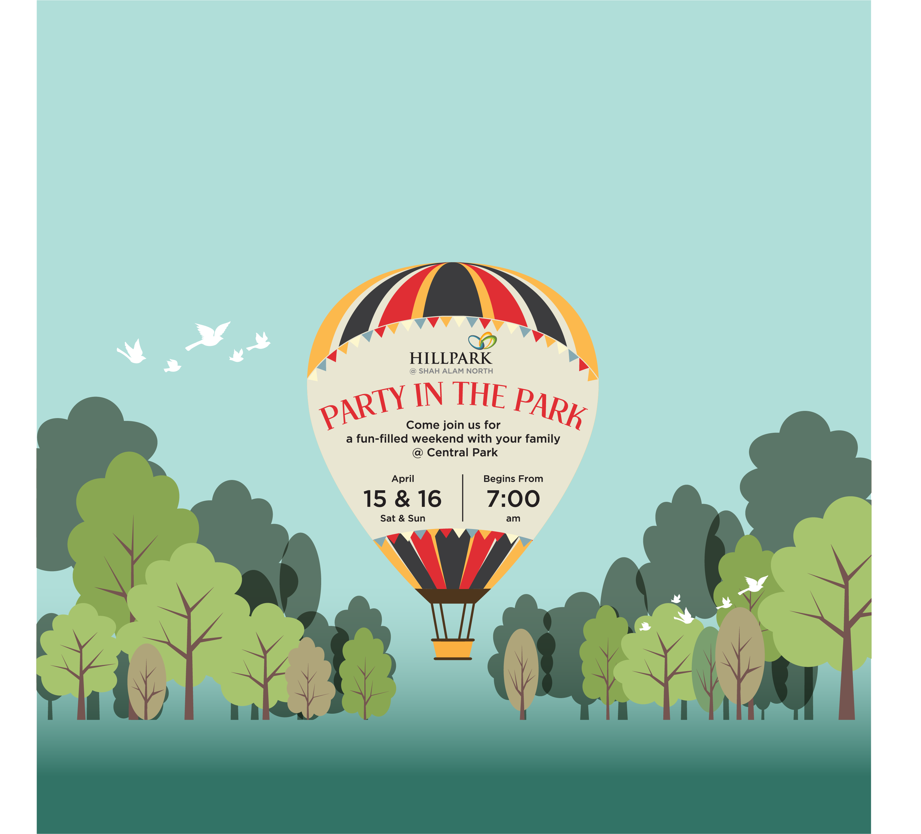 Party in Park_Key Visual to event(web)